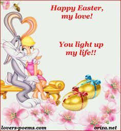 Happy Easter I Love You Images Happy Easter My Love You Are My Life I Love You Images Happy Easter Good Evening Love