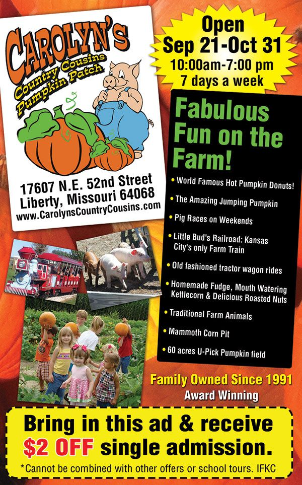 Use the iFamily ad to receive a 2 discount on admission