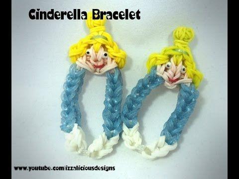 Rainbow Loom Cinderella Charm Bracelet