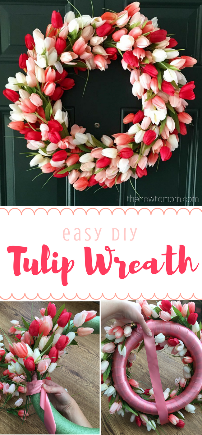 easy stripe and floral wreath floral wreath wreaths and bald