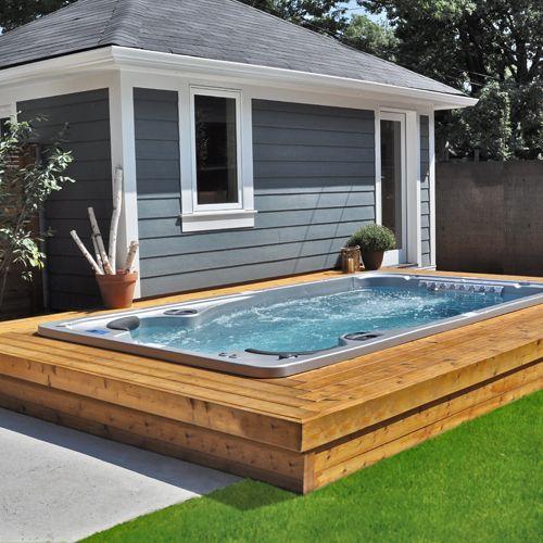 Hydropool Swim Spas AquaTrainer 14 FX