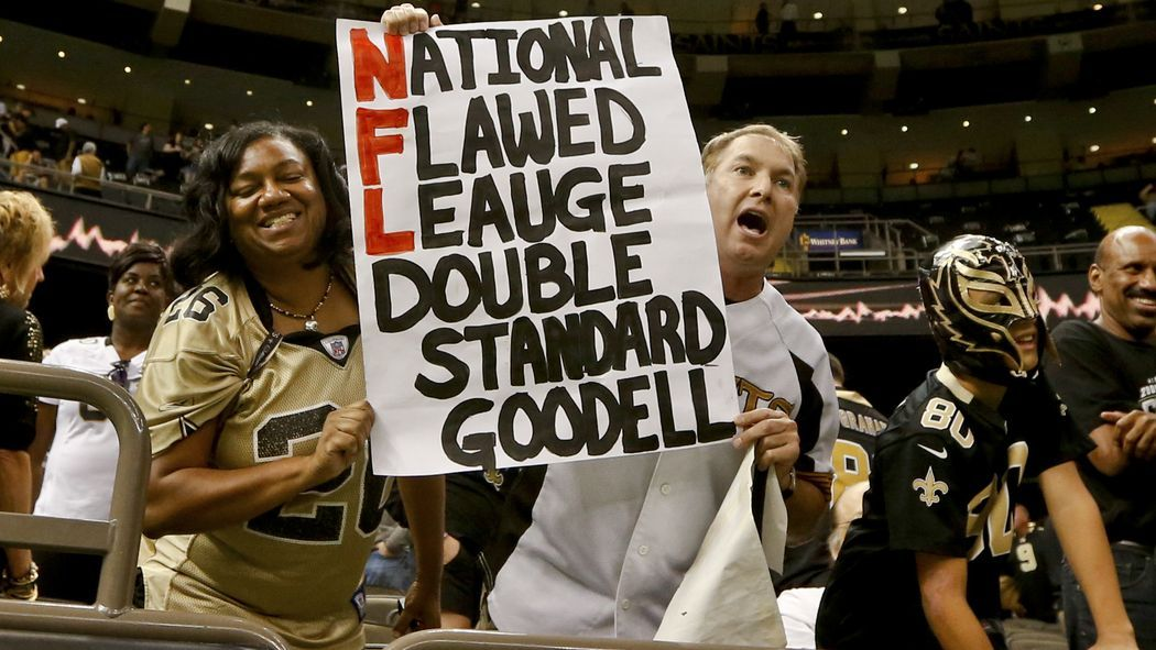 "Goodell Gambling With Fan ""Surface Tension""... Nfl"