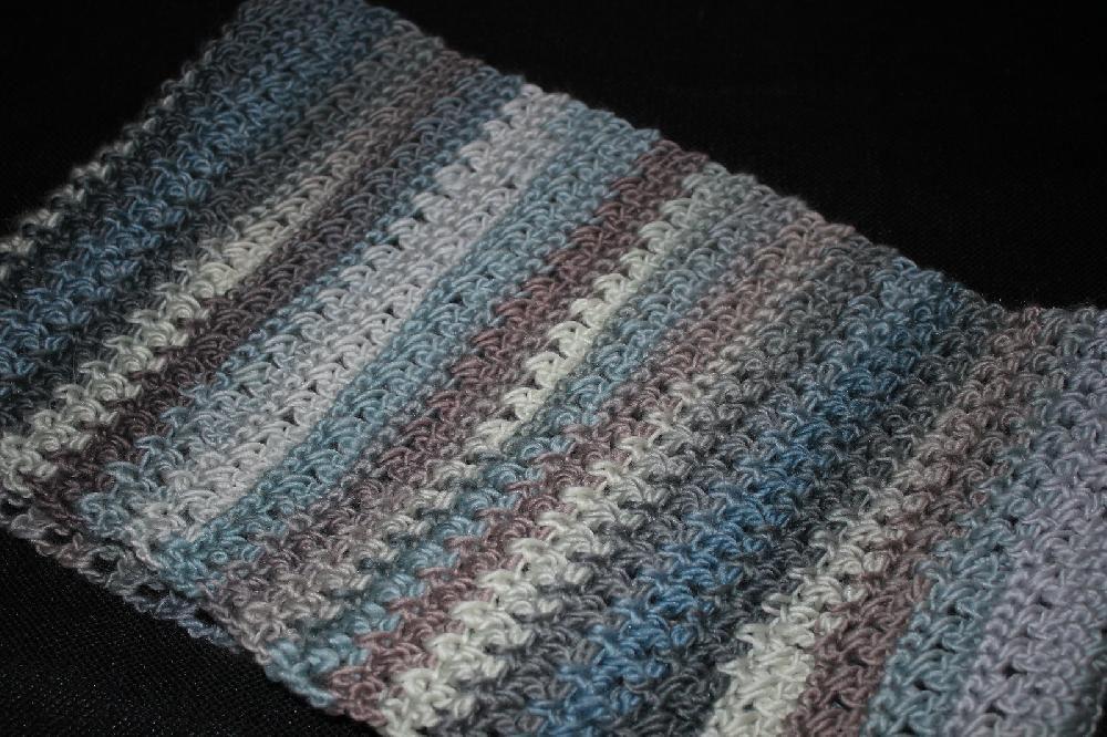 Textured Triangle Cowl Crochet pattern by Amanda Batson | $3.01