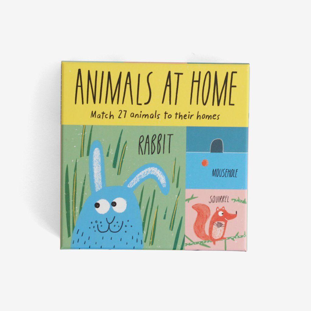 Animals At Home Matching Game