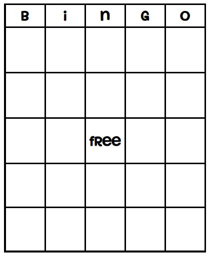 49 Printable Bingo Card Templates Bingo Vorlage Regarding Blank Bingo Template Pdf In 2020 Bingo Card Template Bingo Template Bingo Cards