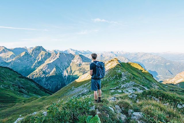 Zeigersattel, Bavaria ~ @romankoenigshofer with a @deuter and the mountains #instahikebavaria01