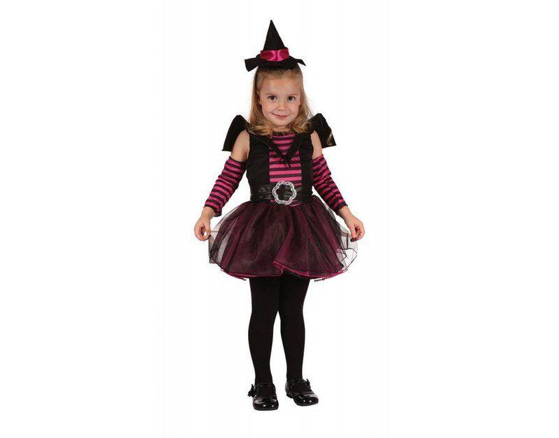 Little Miss Pinky Witch Kinde Kinder 1 3 Jahre Madchen Halloween Kostum Kleinkind Madchen Kostume