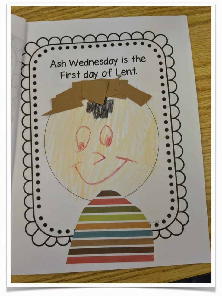Love those kinders lent for little kids and an ash wednesday hi friends for all my catholicchristian school friends you know that ash wednesday is this wednesday and we begin the long season of negle Image collections