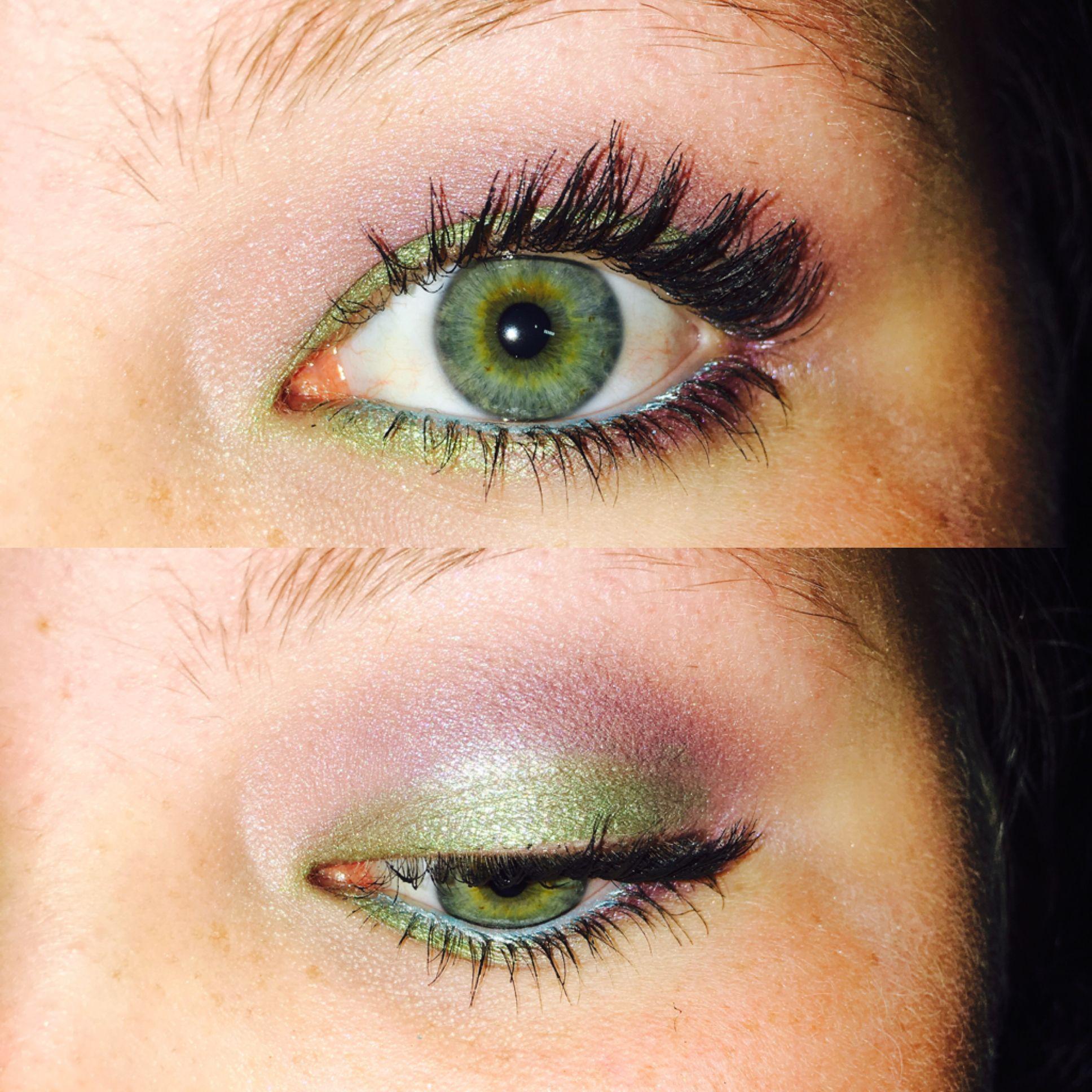 Little Mermaid Eye Look🐠 🌊 littlemermaid makeup fun