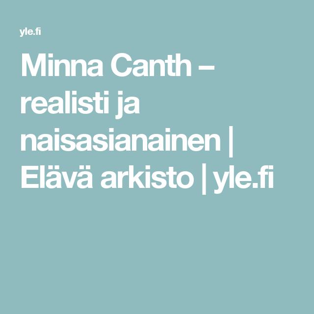 Minna Canth – realisti ja naisasianainen | Elävä arkisto | yle.fi