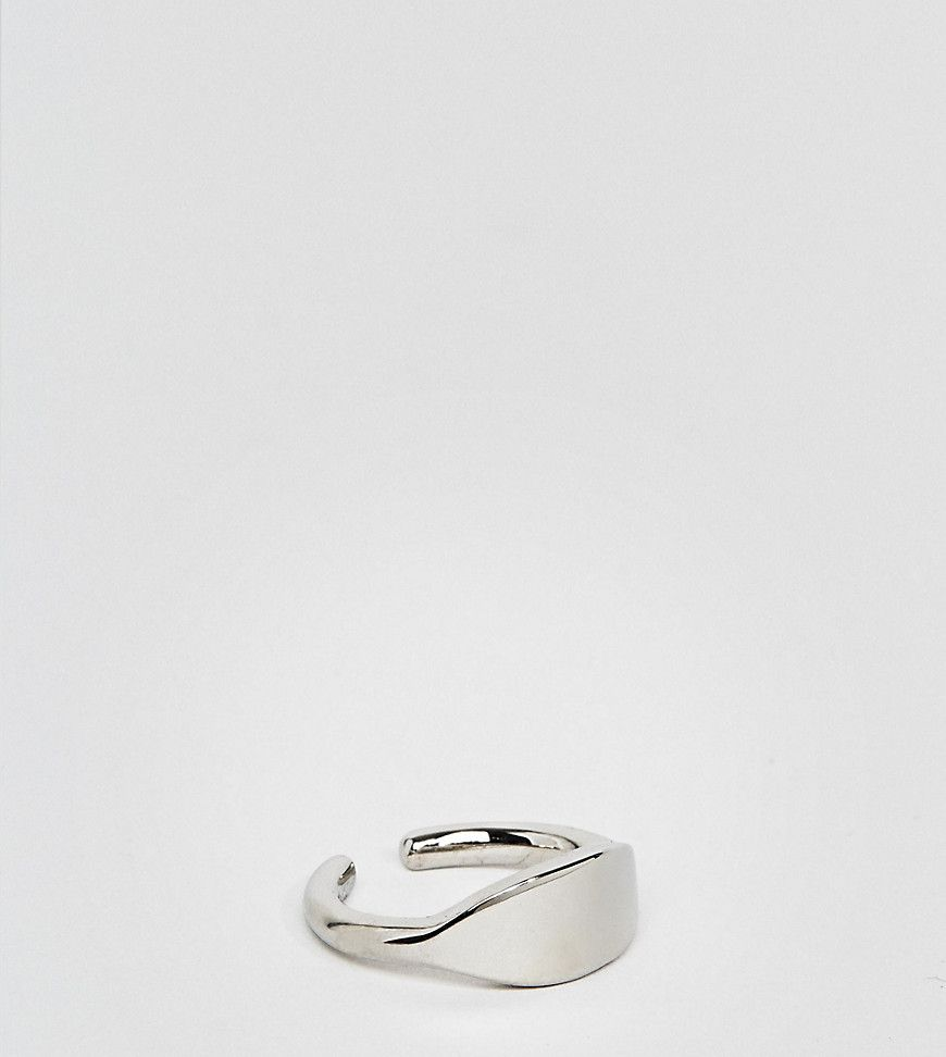 Icon brand signet ring in silver silver products pinterest