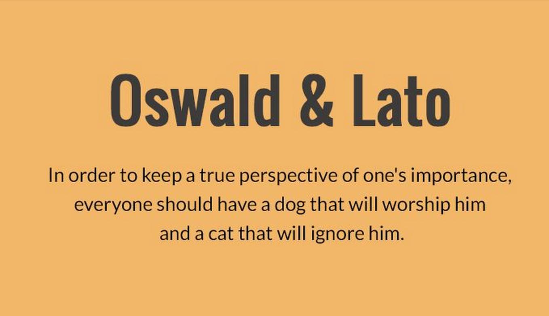 Oswald & Lato | Sans-serif Font Combinations | Font combinations