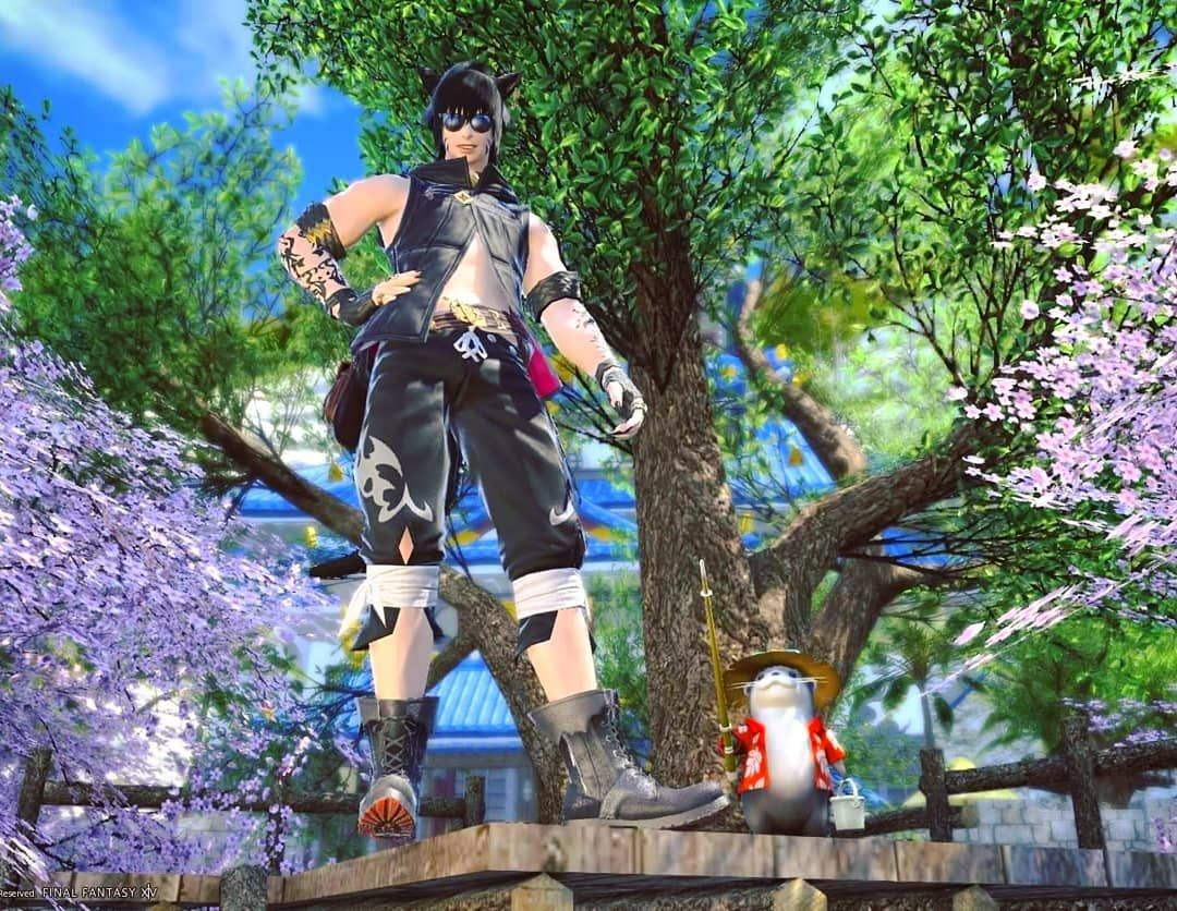 I Recently Bought A Treehouse For My House Idk Why I Didn T Get One Sooner Cuz It S Awesome Noctis Noc Catboy Final Fantasy Xiv Final Fantasy 14