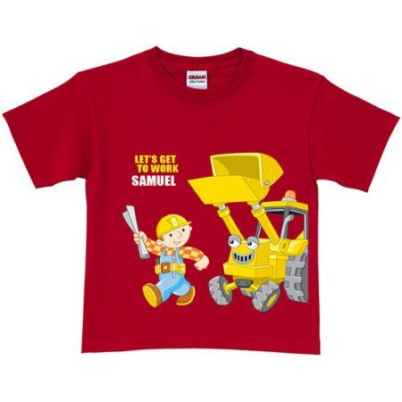 Personalized Bob The Builder T-Shirt
