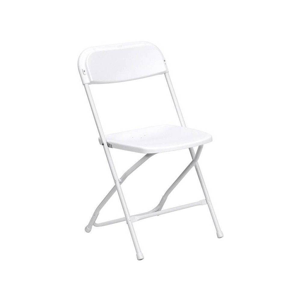 Riverstone Furniture Collection Plastic Folding Chair White Folding Chair Plastic Folding Chairs White Plastic Chairs