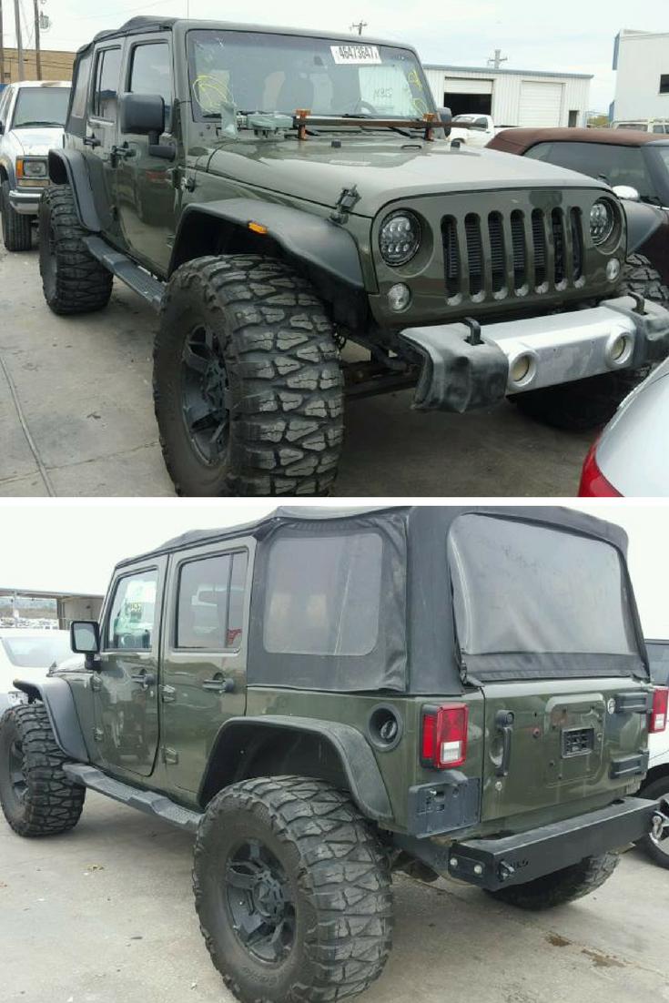 Used 2016 Jeep Wrangler JK Unlimited Sahara 4x4 For Sale