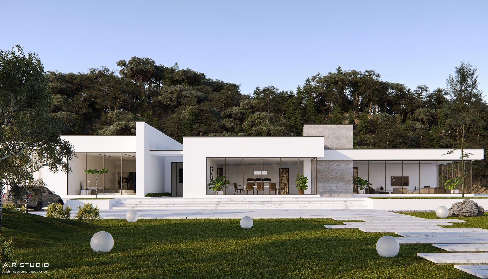 Minimalist Villa Modern House Facades Modern House Exterior Architecture House