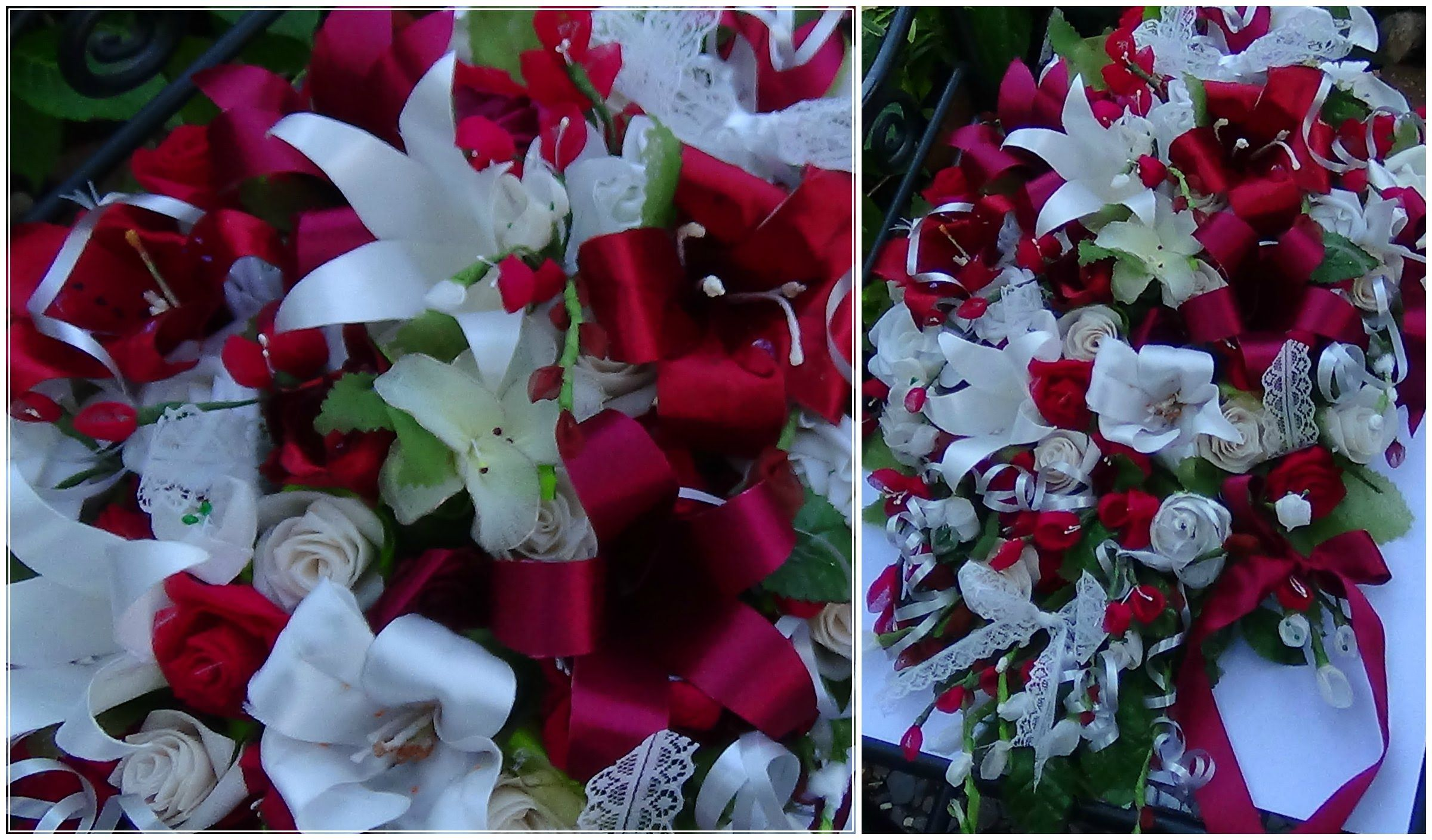 DIY Cascading Bouquet