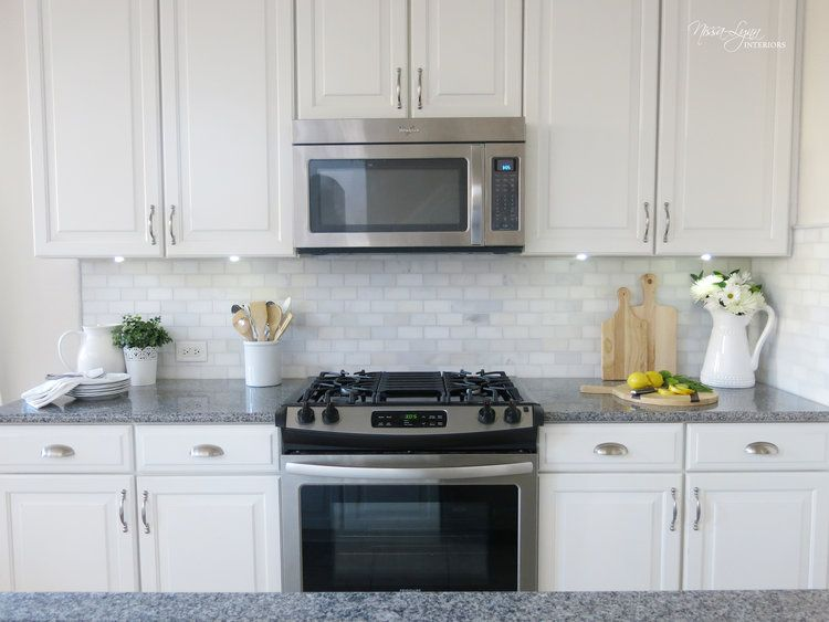 I Love My New Kitchen Backsplash From Floor Decor Featuring The Carrara White Brick Marble Mosaic 12x12 Tiles And The C Kitchen Remodel Kitchen Floor Decor