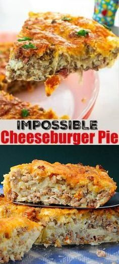 Secret Cheeseburger Pie #impossiblecheeseburgerpie Impossible Cheeseburger Pie - Super easy and delicious! This yummy recipe is full of cheesy beefy flavor that everyone loves. #impossiblepie #beefpie