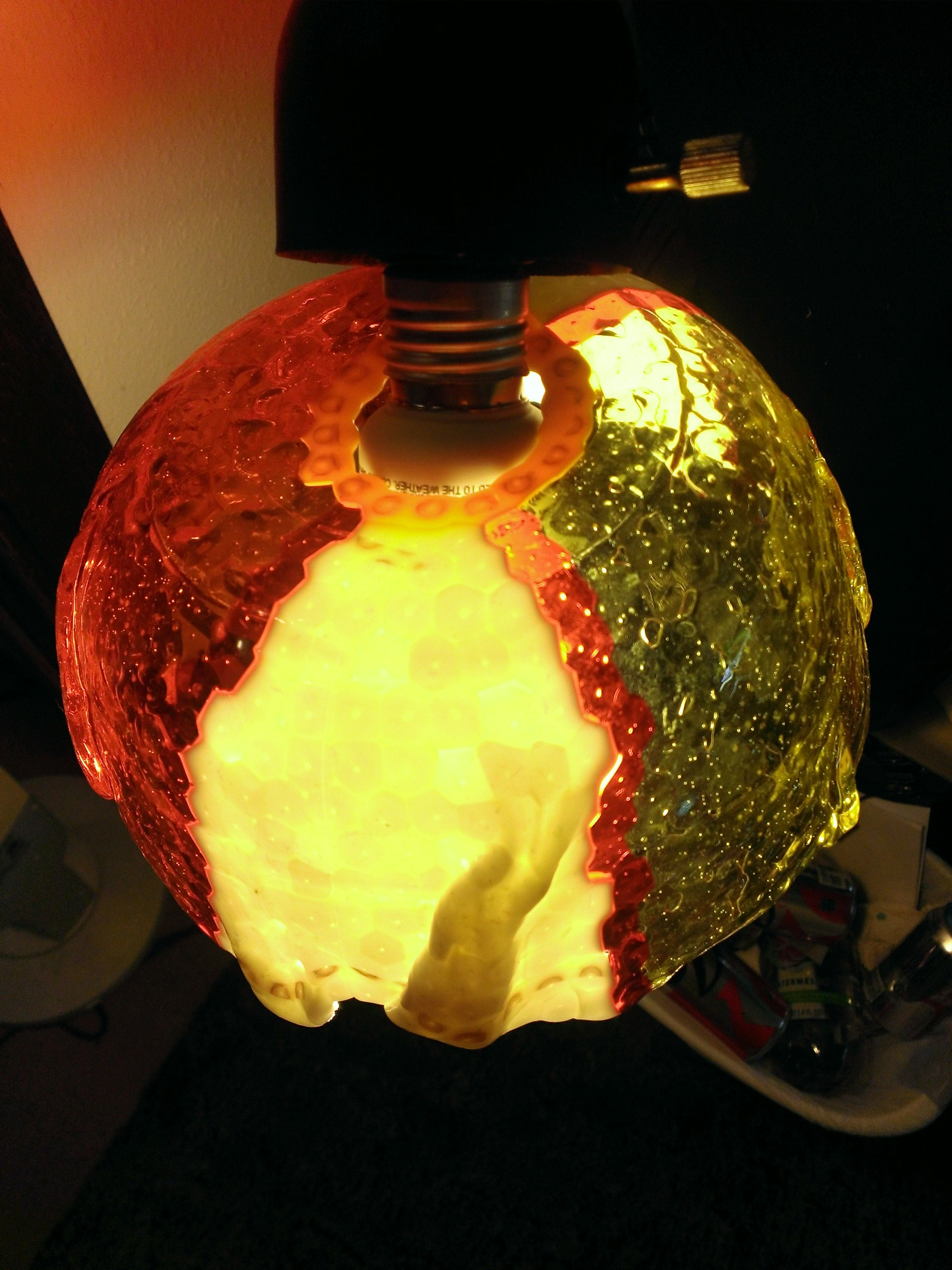 Melted Beads Melted Beads Lamp Shade Beaded Lampshade Beaded Lamps Melting Beads