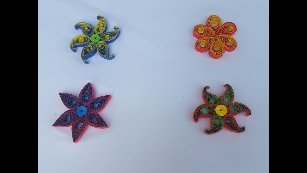 Paper Quilling Flowers Step By Step 3d Quilling Flowers By Art Life