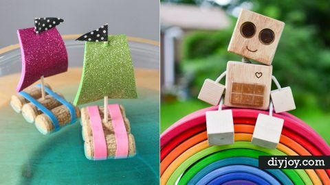 33 Fun DIY Ideas for Your Kids To Make At Home | DIY Joy Projects and Crafts Ideas
