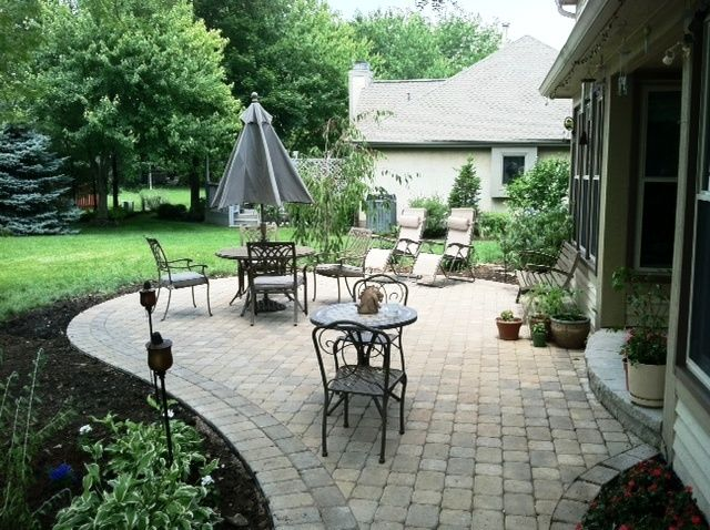 the high style and custom design make it a real treat you can see that every detail of this custom raleigh patio was thought - Hardscape Design Ideas