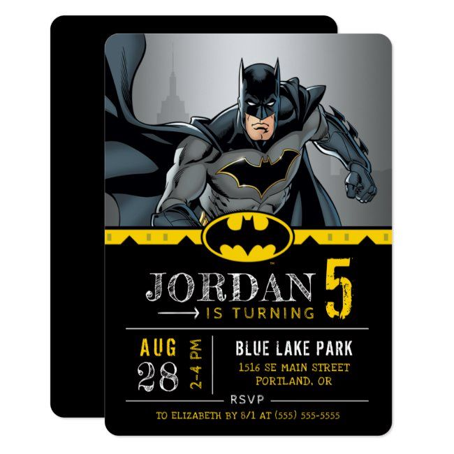 8 ~ Birthday Party Supplies Stationery Cards Notes DC LEGO BATMAN INVITATIONS