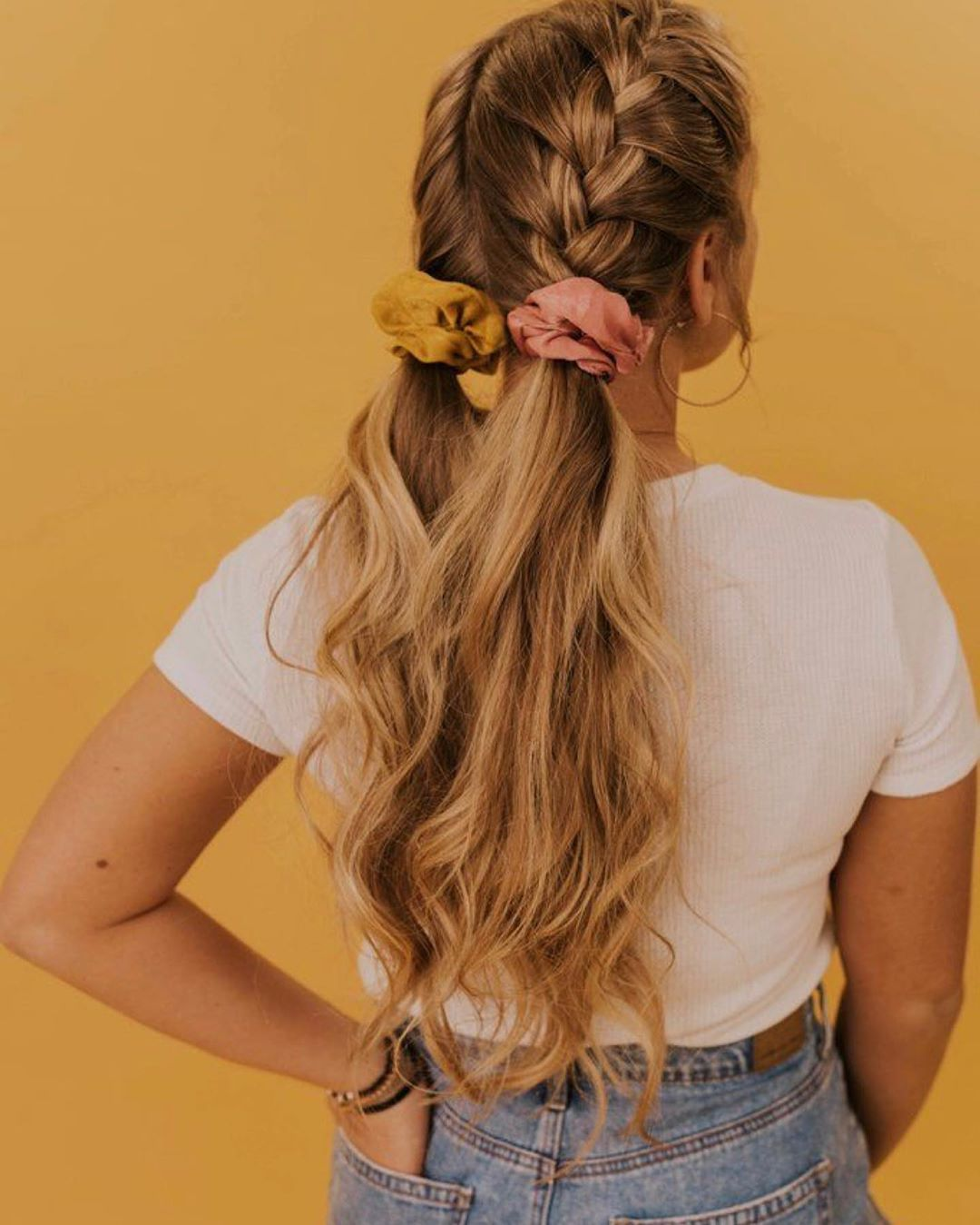 S C A R F Hair Styles Scarf Hairstyles Scrunchie Hairstyles