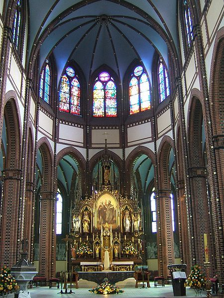Gliwice Poland St. Peter and Paul Cathedral