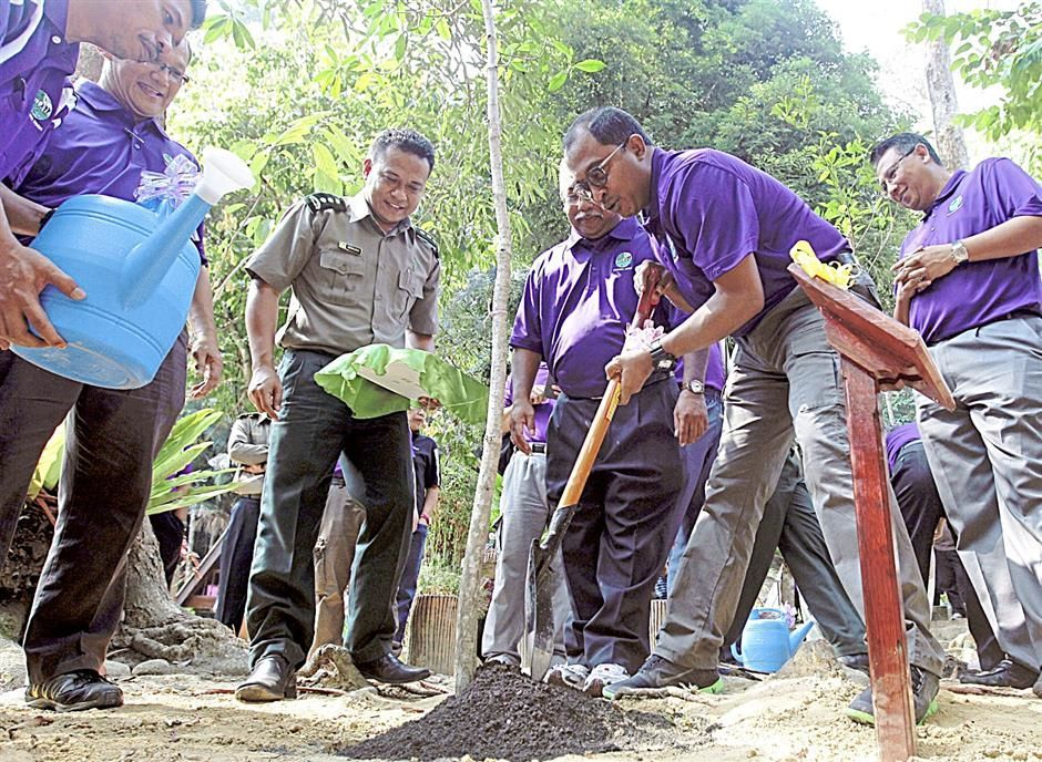 Protecting forest land