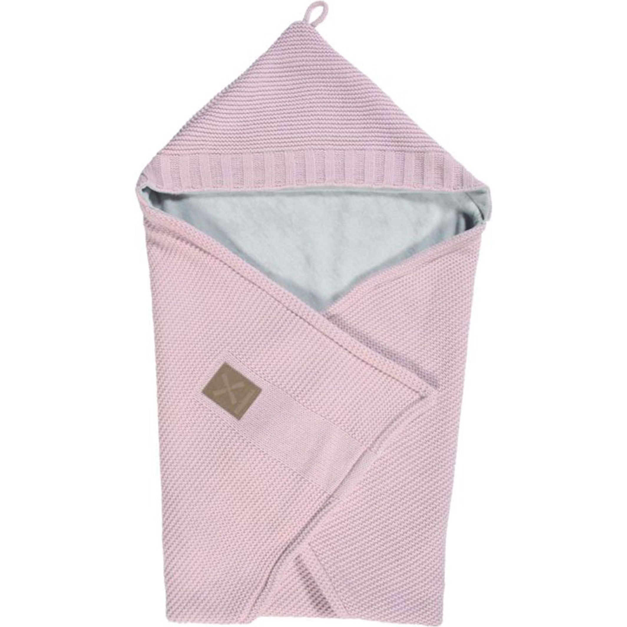 Kidsmill Knitted Badcape Roze - Cm