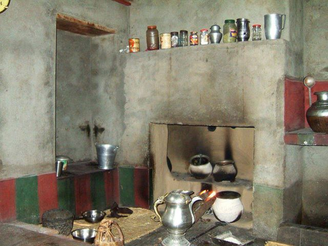 A Traditional Kashmiri Kitchen Kashmir