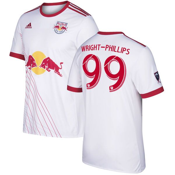 Bradley Wright-Phillips New York Red Bulls adidas 2017 Replica Primary  Jersey - White - 982015338