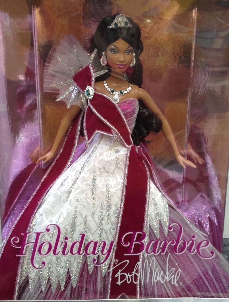 Holiday Barbie by Bob Mackie 2005 AA