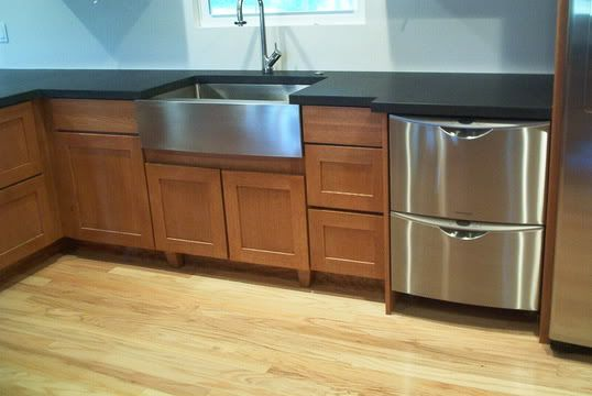 Delicieux Kindred Stainless Steel Apron Front Sink.