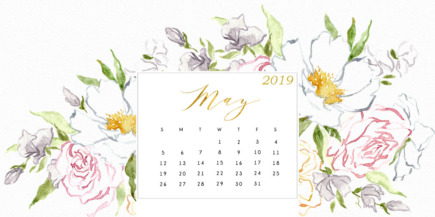 Free 2019 HD Calendar Wallpapers Desktop wallpaper