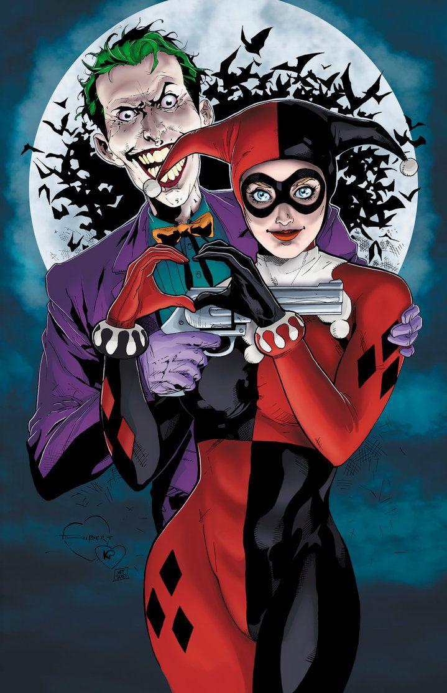 Harley Quinn and The Joker - Mad Love by MattJamesComicArts on @DeviantArt