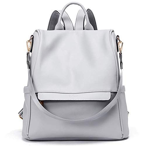 6f0e2a0b2c Women Backpack Purse Fashion PU Leather Anti-theft Large Travel Bag Ladies  Shoulder School Bags
