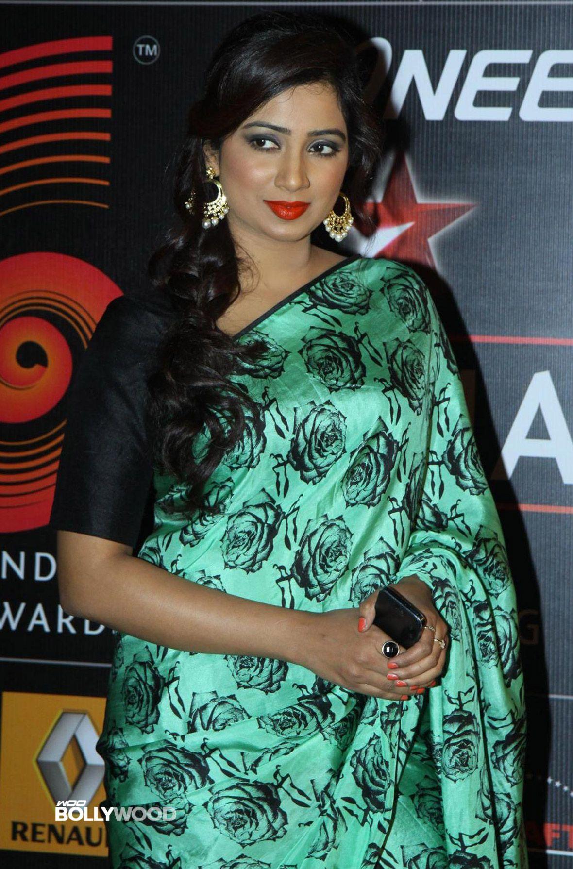 Shreya Ghoshal Saree  Shreya Ghoshal Moments  Fashion, Beautiful Saree, Indian Fashion-2826