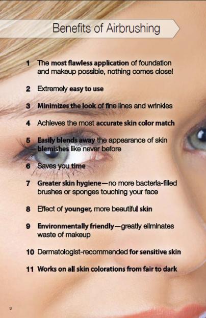 Save Your Skin Airbrush makeup wedding, Dinair airbrush