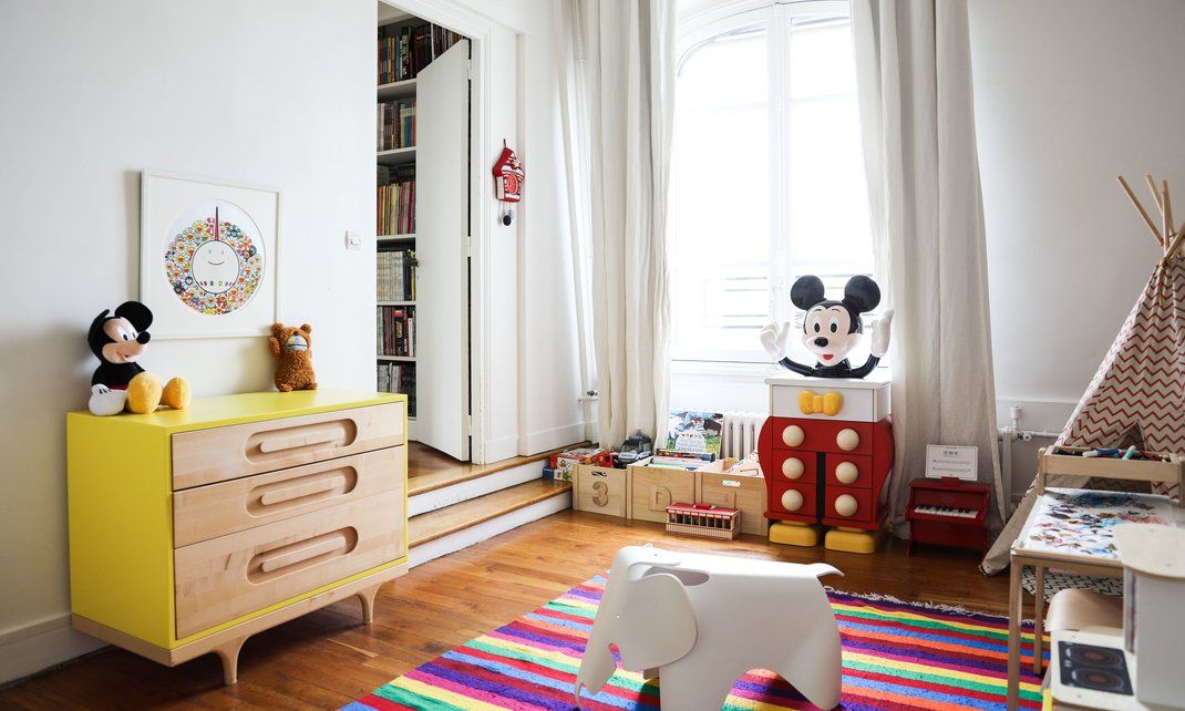 Ingrid Brochard et Rudy Boublil, Sacha 3 ans Kidsroom, Kids rooms