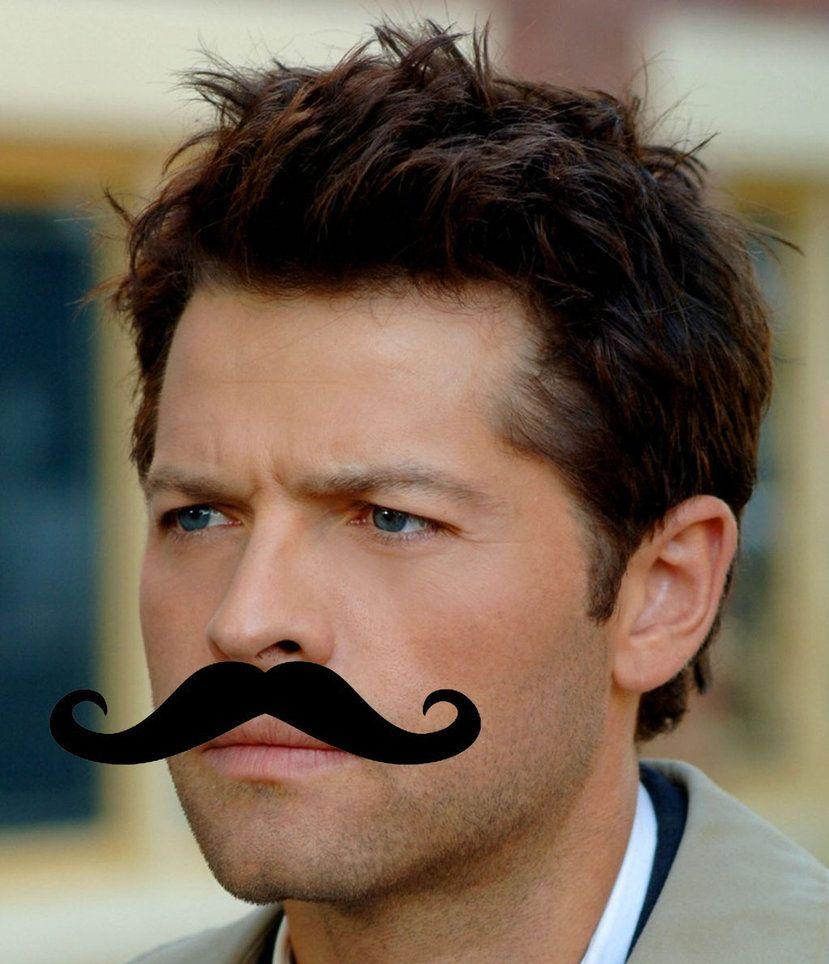 Rock hairstyle boy mustache castiel icon by xxdangerouspiexx on deviantart this is the