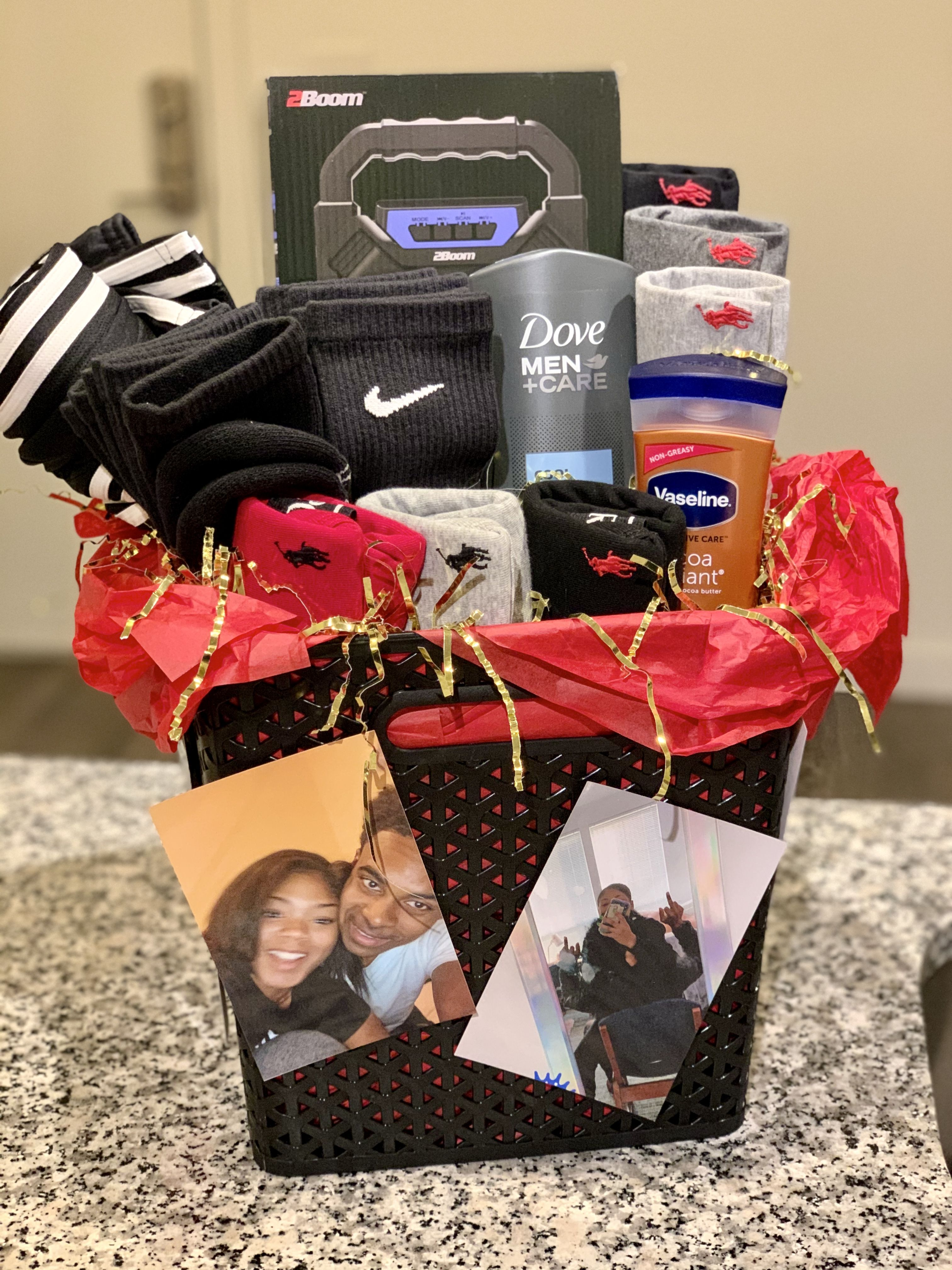 The Boyfriend box   Boyfriend gifts, Diy christmas gifts