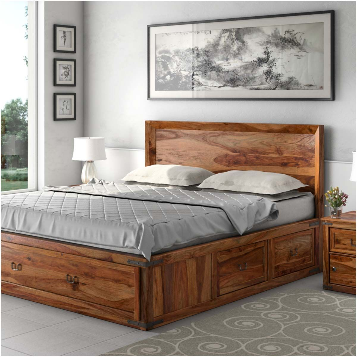 Tips And Ideas Around The Topic Of Solid Wood Beds Solid Wood