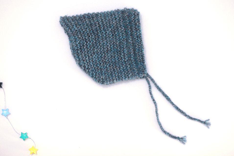 Béguin-lutin, acte 2, en 2 ans (et 2 soirées | Bonnet bébé tricot, Tricot layette et Tricot
