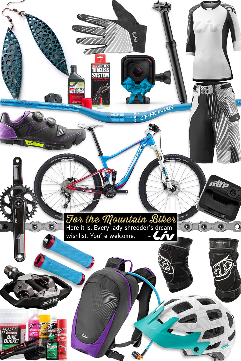 Gift Guide for the Mountain Biker   Best Gifts for Cyclists   Liv-Cycling
