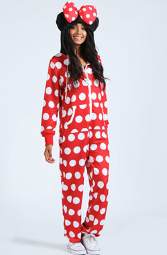 Womens Onesies Boohoo Minnie Mouse Bargain Onesie Wants Onesie