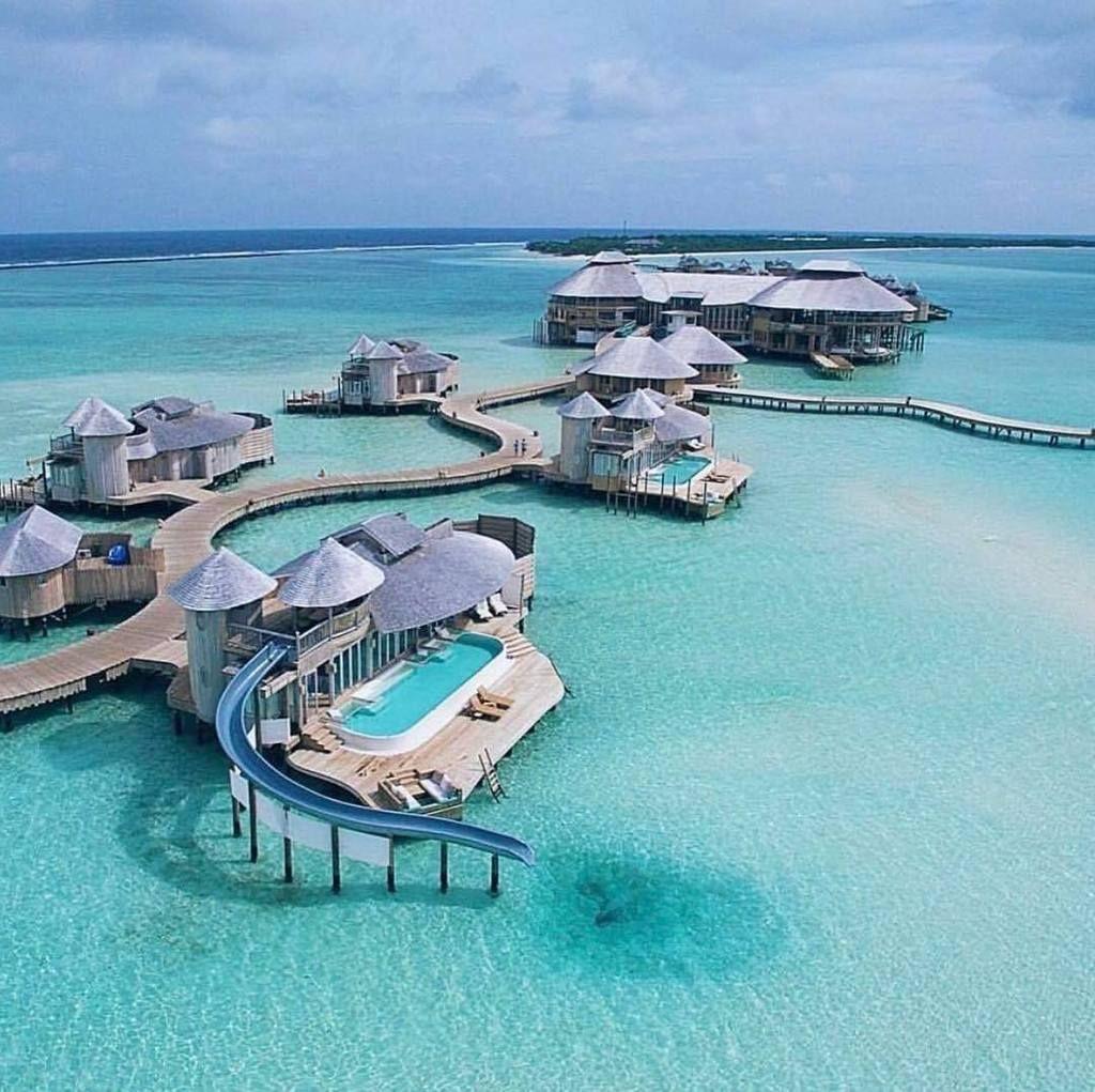 Soneva Jani Resort Villa With A Slide Enough Said